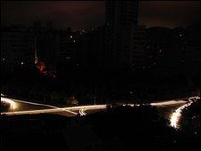 Rio de Janeiro in darkness. Photo: Bruno J�come �sler Janesch