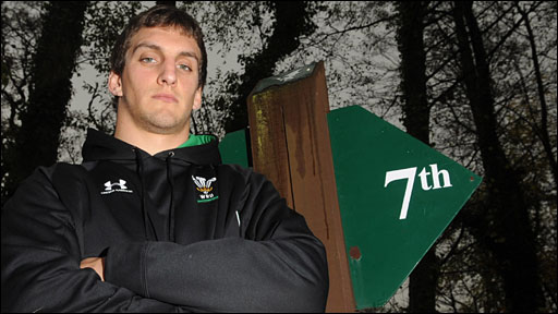 Wales open-side flanker Sam Warburton