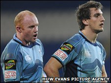 Martyn Williams and Sam Warburton