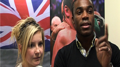 Helen Skelton and Ore Oduba