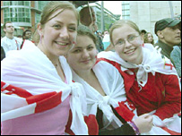 Girls enjoy St George's Day