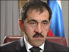 Ingushetia's President Yunus Bek Yevkurov