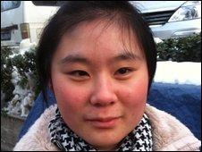 Liu Yue, trainee nurse in Beijing