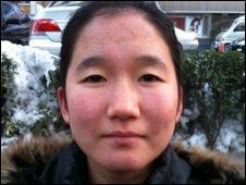 Zhu Tianfeng, trainee nurse, Beijing