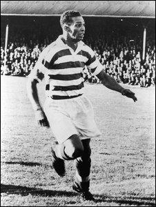 Footballer Gil Heron