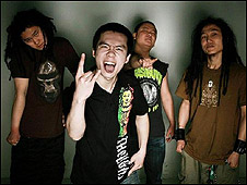Chinese rock band, Ordinance