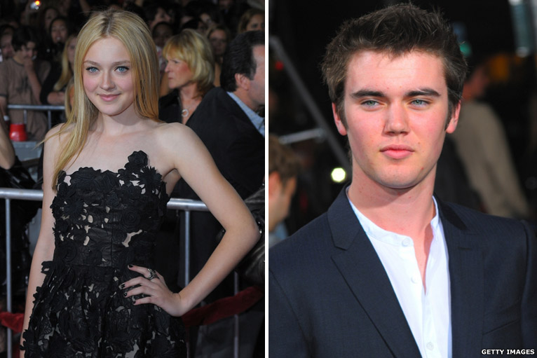 Dakota Fanning and Cameron Brig...