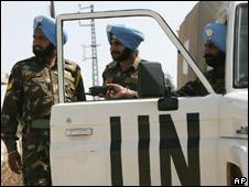 Indian peacekeepers in Lebanon (File photo)
