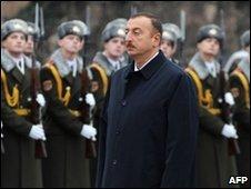 Azeri President Ilham Aliyev on 12 November 2009