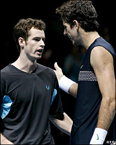 Andy Murray and Juan Martin del Potro