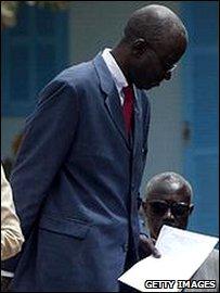 Senegalese Justice Minister Moustapha Soureng