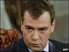 Dmitry Medvedev, November 2009 file pic