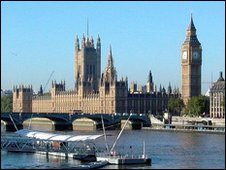 Palace of Westminster, home of world's oldest parliamentary democracy