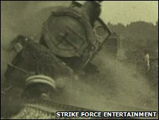 1928 staged rail crash
