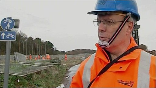 Network Rail's Keith Lumley