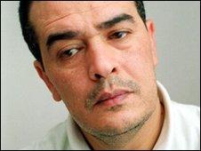 Taoufik Ben Brik pictured in 2000