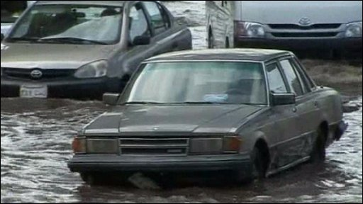 Flooding in Saudi Arabia