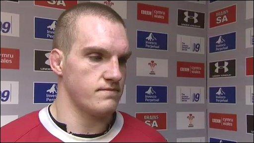 Wales captain Gethin Jenkins
