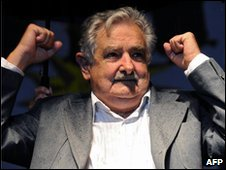 Jose Mujica was elected president of Uruguay