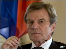 Bernard Kouchner, file pic from November 2009