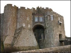 A gatehouse to Dover Castle