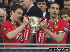 Manchester United won the Carling Cup in 2009