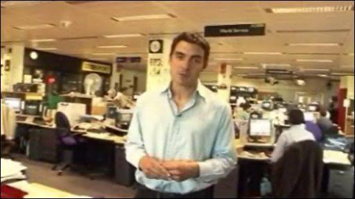 BBC Sports reporter