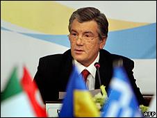 Ukraine President Viktor Yushchenko (file pic)