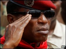Guinea President Camara