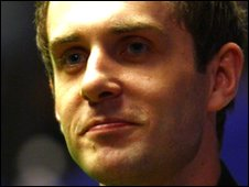 Leicester snooker player Mark Selby