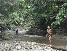 Penan tribesmen