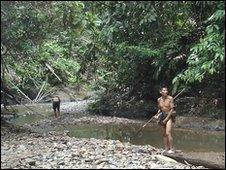 Penan tribesmen