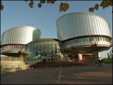 Archive photo of the European Court of Human Rights
