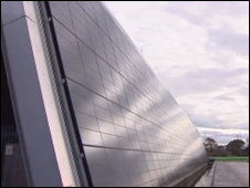 The solar energy research project at Technium OpTIC in St Asaph