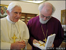 The Pope and the Archbishop of Canterbury