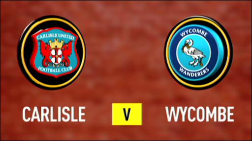 Carlisle v Wycombe