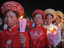 Celebrations of 350 years of Catholicism in Vietnam, 23 Nov, 09