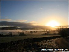 Mist in the Eden Vally from Andrew Simpson