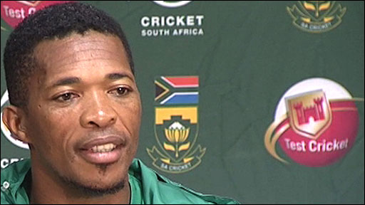 South Africa's Makhaya Ntini