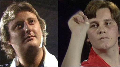 Eric Bristow and Keith Deller, BDO World Darts Championship 1983