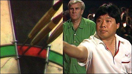 Paul Lim's 9-darter, BDO World Darts Championship 1990