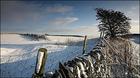 Snow on Longstone Moor