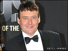 Jimmy White pictured at the recent BBC Sports Personality of the Year awards show