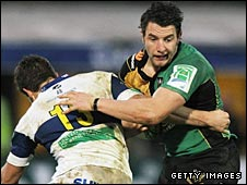 Northampton's Phil Dowson pictured during the first group game against Treviso