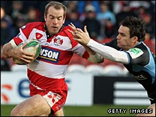 James Simpson-Daniel showed some nice touches for Gloucester