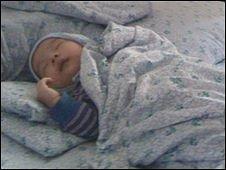 Rustam's baby