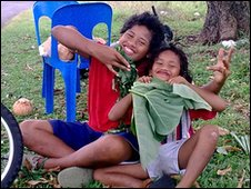 Cook Island children