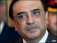Pakistan President Zardari 