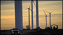 Wind turbines at Greensburg, Kansas