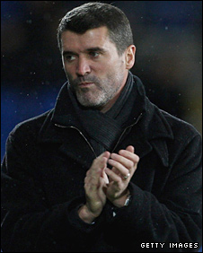 Ipswich manager Roy Keane